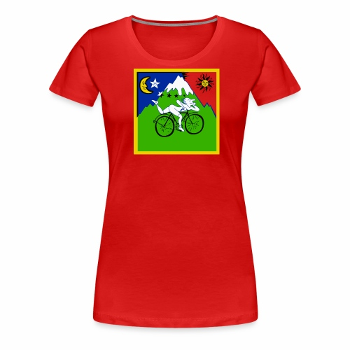 Bicycle Day Red Shirt - Women's Premium T-Shirt