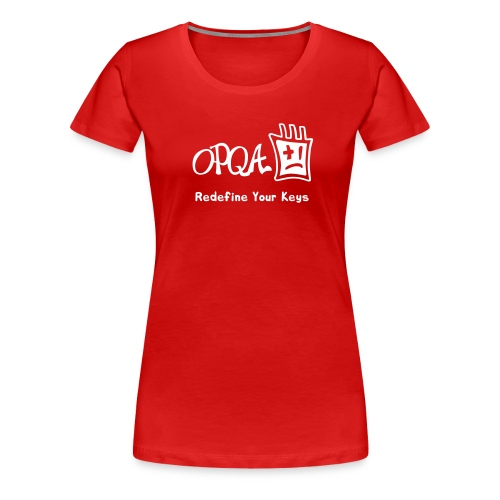 opqa2c - Camiseta premium mujer