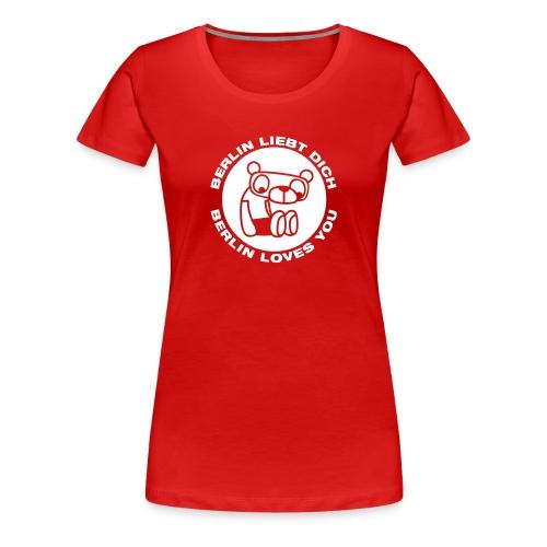 berlinbearround - Frauen Premium T-Shirt
