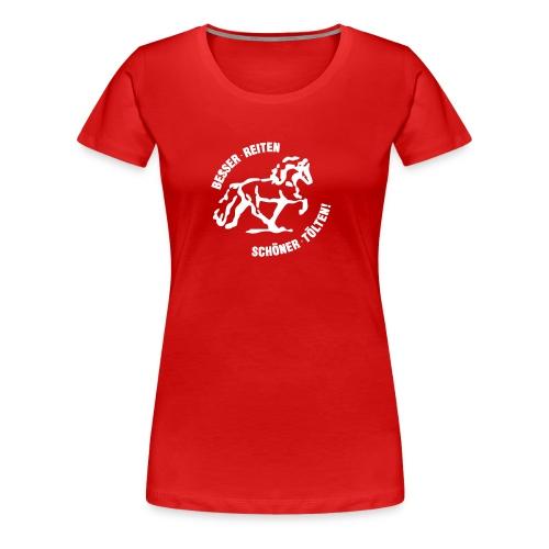 brst final black - Frauen Premium T-Shirt