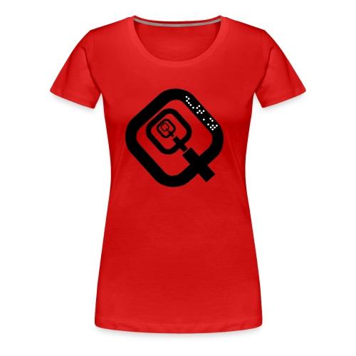 quatsch2 - Frauen Premium T-Shirt