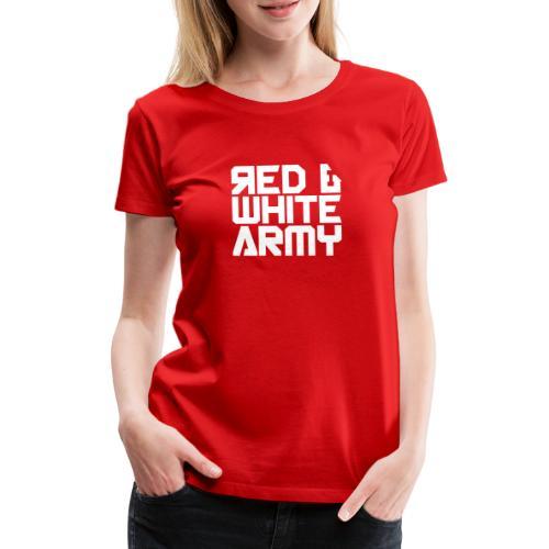 Red & White Army - Women's Premium T-Shirt