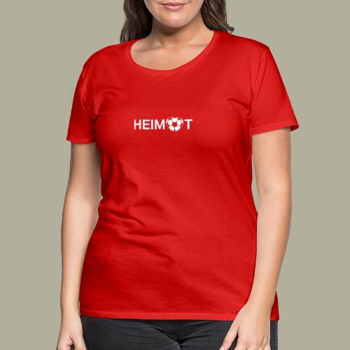 Dortmunder Heimat mit Fußballherz - Frauen Premium T-Shirt