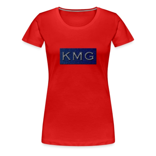 KMG - Dame premium T-shirt
