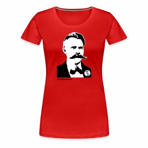 tryckfelsnietzsche_sås - Premium-T-shirt dam