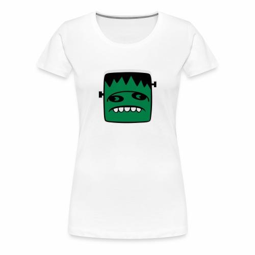 Fonster pur weißer Rand - Frauen Premium T-Shirt