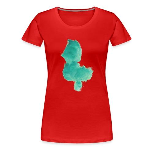 grünes Küken - Frauen Premium T-Shirt