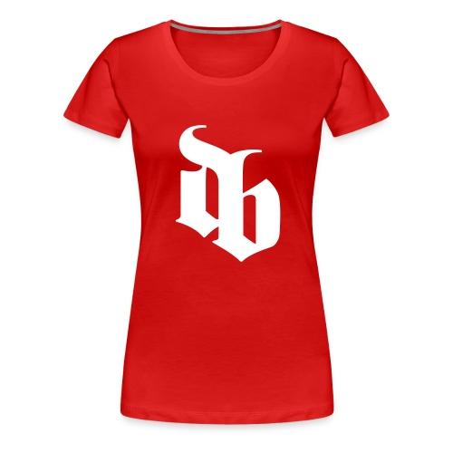 dblogo - Dame premium T-shirt