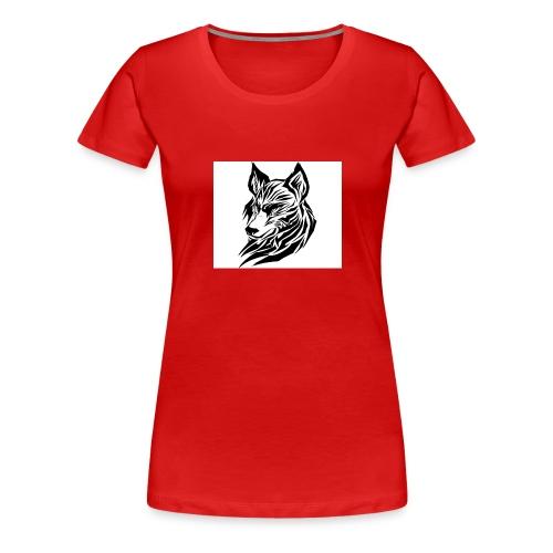 loup 2 jpg - T-shirt Premium Femme