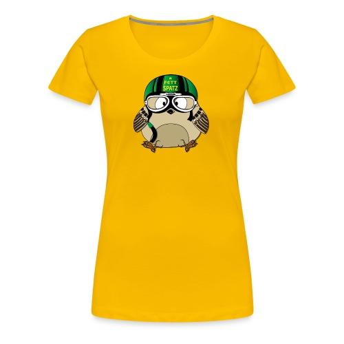 Fettspatz SAMSON - Frauen Premium T-Shirt