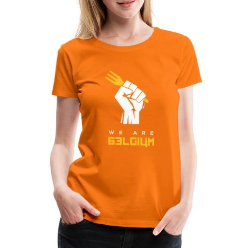 We are Belgium - Belgie - trident - T-shirt Premium Femme