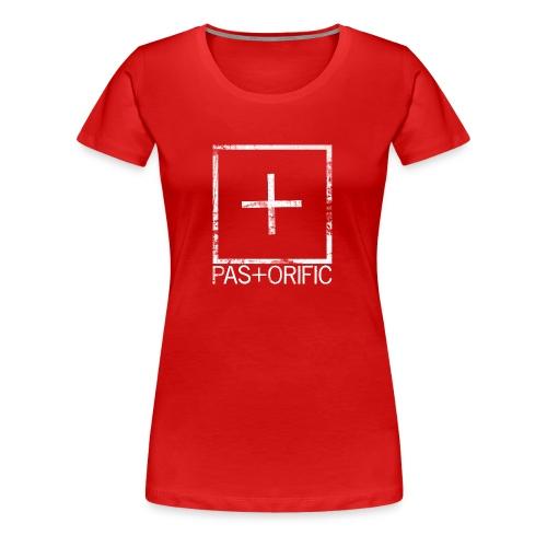 Pastorific-logo - Naisten premium t-paita
