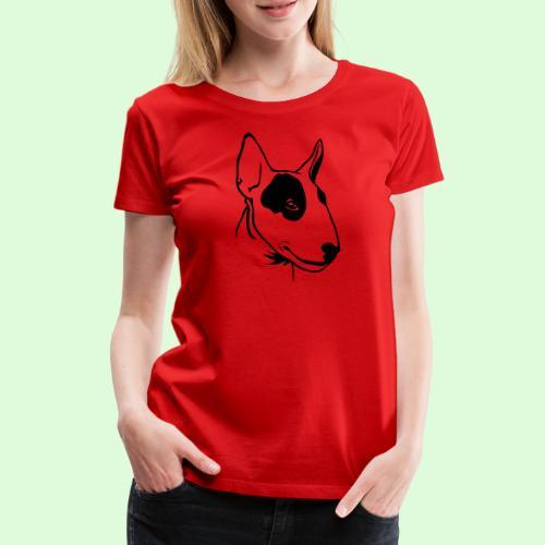 Bull Terrier - T-shirt Premium Femme