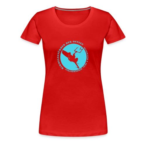 StrandWärmer_Himmelsstürmer_turkis - Frauen Premium T-Shirt