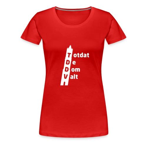 TDDV Logo - Vrouwen Premium T-shirt