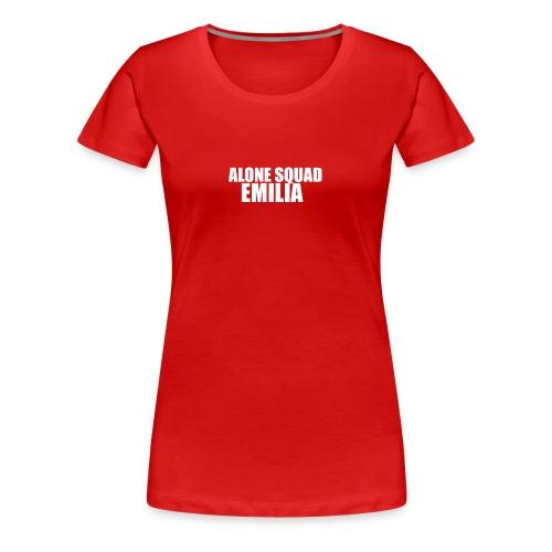 zAlone0 SQUAD Emilia - Women's Premium T-Shirt