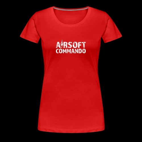 Airsoft Commando - Frauen Premium T-Shirt