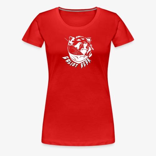 Galiot Bear Logo weiß - Frauen Premium T-Shirt
