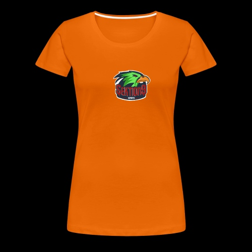 Sektion9 Logo Grün - Frauen Premium T-Shirt
