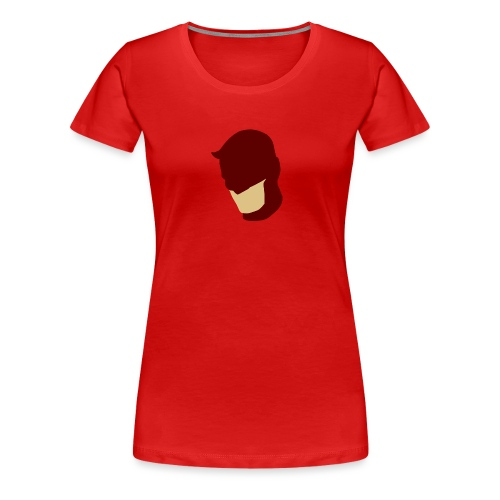 Daredevil Simplistic - Women's Premium T-Shirt