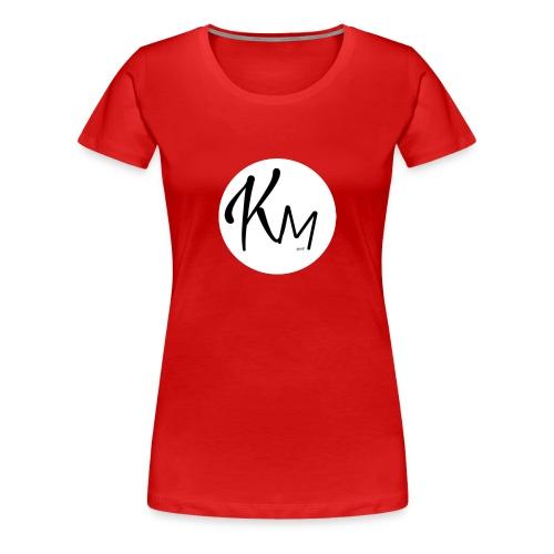 KM Logo - Frauen Premium T-Shirt