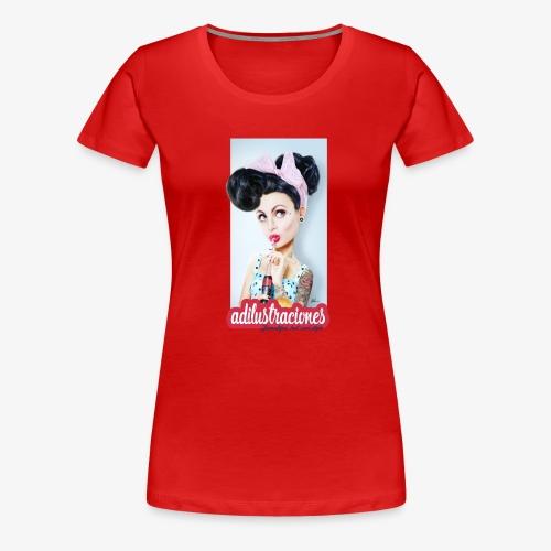 PINup - Camiseta premium mujer