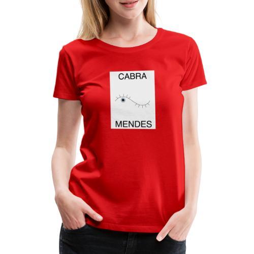 CabraMendesTshirt - T-shirt Premium Femme