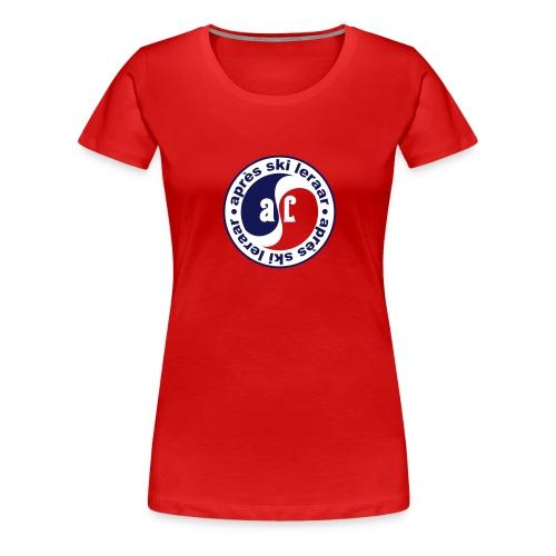 Apres Ski Leraar (blauw) - Vrouwen Premium T-shirt