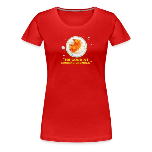 Crumble T-shirt (Women's Standard) - Women's Premium T-Shirt
