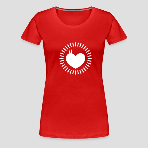 Dom Herz - Frauen Premium T-Shirt