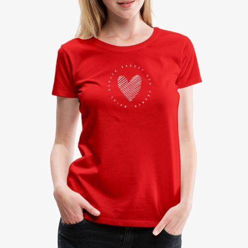 Wuide Herzen - Frauen Premium T-Shirt