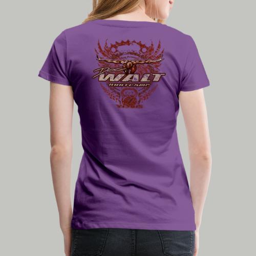 DOCWALT 2FOCUS (bitte max. 40°/verkehrt waschen) - Frauen Premium T-Shirt
