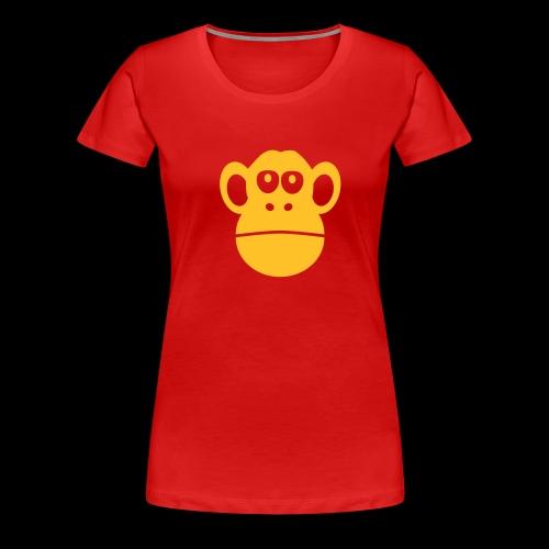 monkey ape singe - Women's Premium T-Shirt