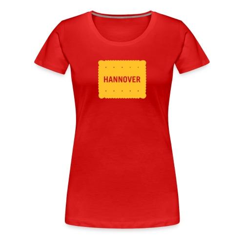 Hannover Kekse - Frauen Premium T-Shirt