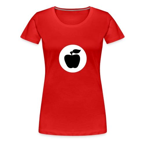 apfelfrontapfel - Frauen Premium T-Shirt