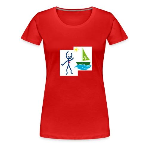 accompagnant aidy - T-shirt Premium Femme