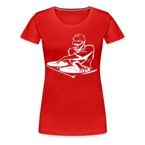 Deejay400Wit - Vrouwen Premium T-shirt