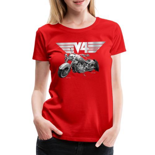 Royal Star silver Wings - Frauen Premium T-Shirt