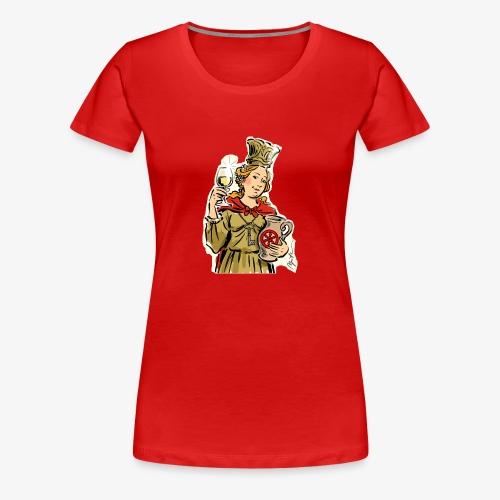 Petronilla Schnitt Apitz - Frauen Premium T-Shirt