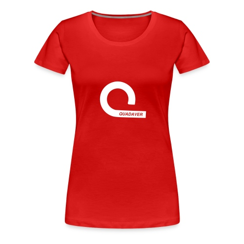 Quadaver Logo mit Text QUADAVER - Women's Premium T-Shirt