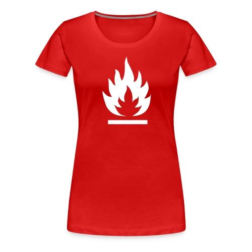 Syttyvä - Naisten premium t-paita