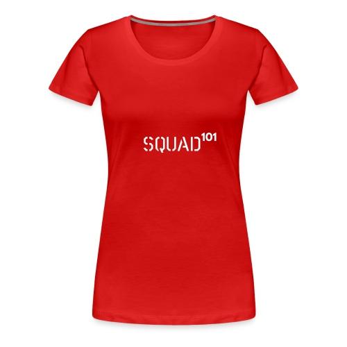 squad 101 white - Women's Premium T-Shirt