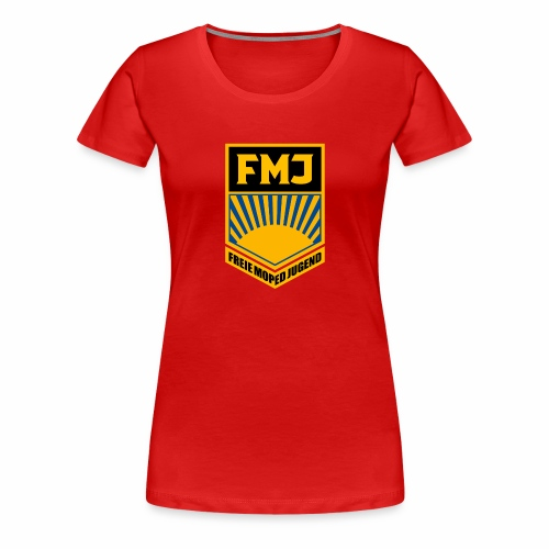 Freie Moped Jugend FDJ Parodie - Women's Premium T-Shirt