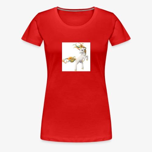 Love Unicorn - Frauen Premium T-Shirt