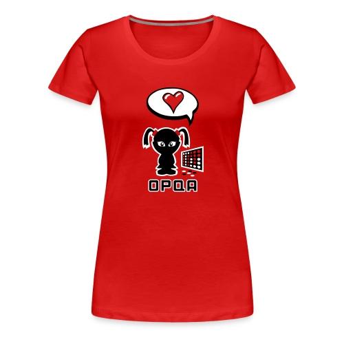 Juegas - Camiseta premium mujer