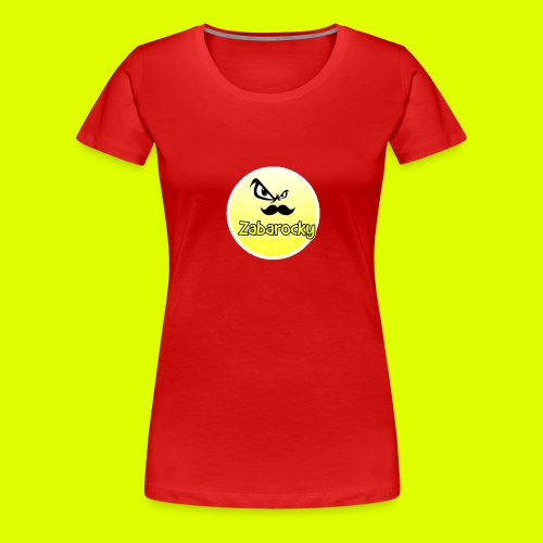Shirt with nice logo with text - Women's Premium T-Shirt