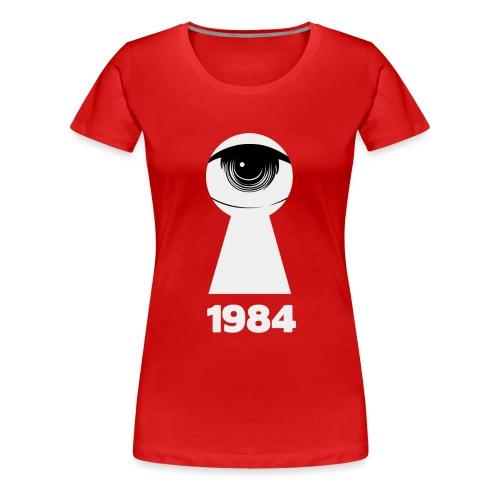 1984 - Maglietta Premium da donna