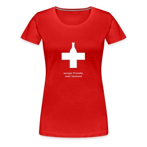 promille - Frauen Premium T-Shirt