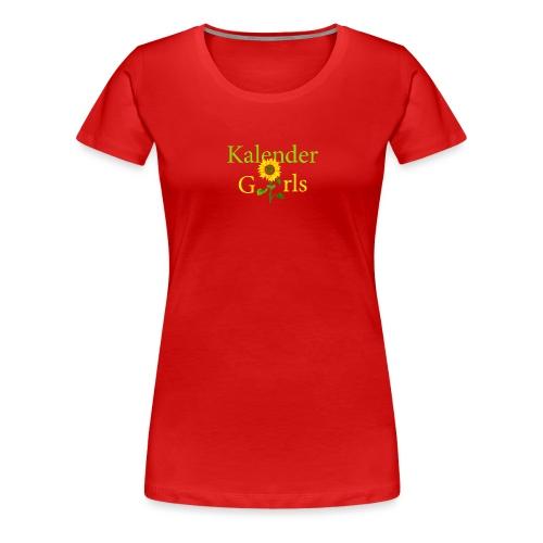 Kalender Girls - Frauen Premium T-Shirt