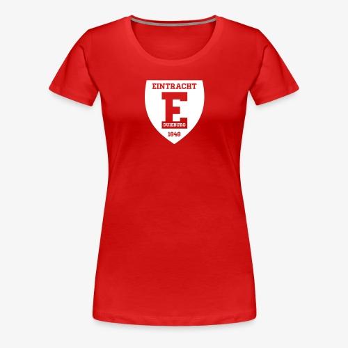 Retro Logo 2 - Frauen Premium T-Shirt